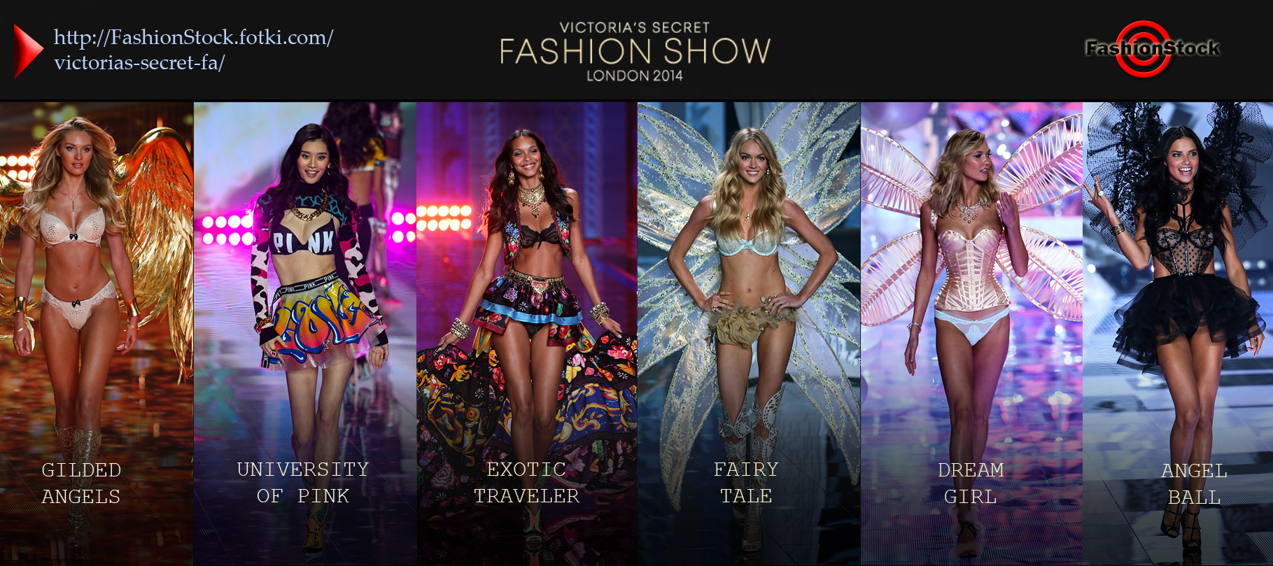 Victoria's Secret Fashion Show - LONDON 2014