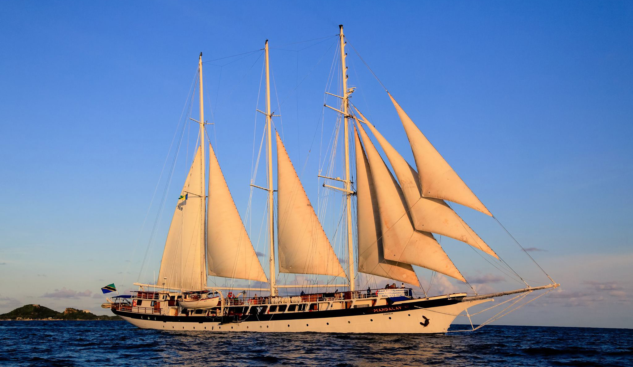 Adventure Travel Cruise with Top Models to Grenada on 236-foot Schooner : November 12 - 18th, 2017