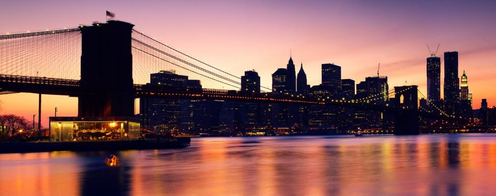 Panorama-View-Of-The-Brooklyn-Bridge-